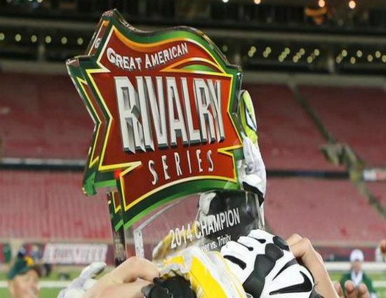 great American Rivalry Football Series 550