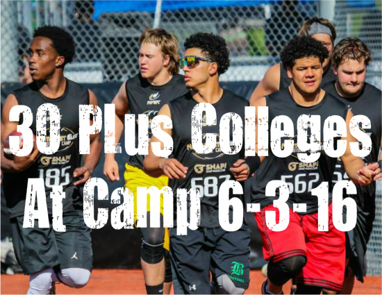 Northwest Elite Football camp 2016
